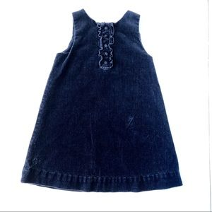 Ralph Lauren Baby Navy Blue jumper dress